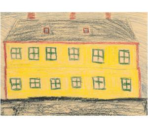 a császársárga ház / személyhajó, elringató a lépcsőházban / minden éjszaka idősebb nyúlemilné / pézsmaillata